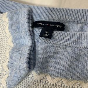 Tommy Hilfiger Womens Sweater Large Blue
